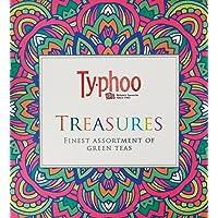 Typhoo Treasures Finest Assortment of Green Teas (45 Tea Bags)