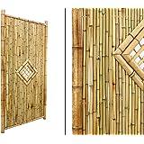 Amazon De Bambus Discount Com Bambuszaun Kohsamui Klassik 180x90cm