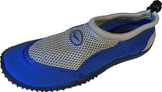 SC New Womens Water Shoes Aqua Socks Slip On Surf Beach Pool Swim Exercise (1483)
