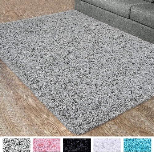 DETUM Soft Bedroom Area Rug
