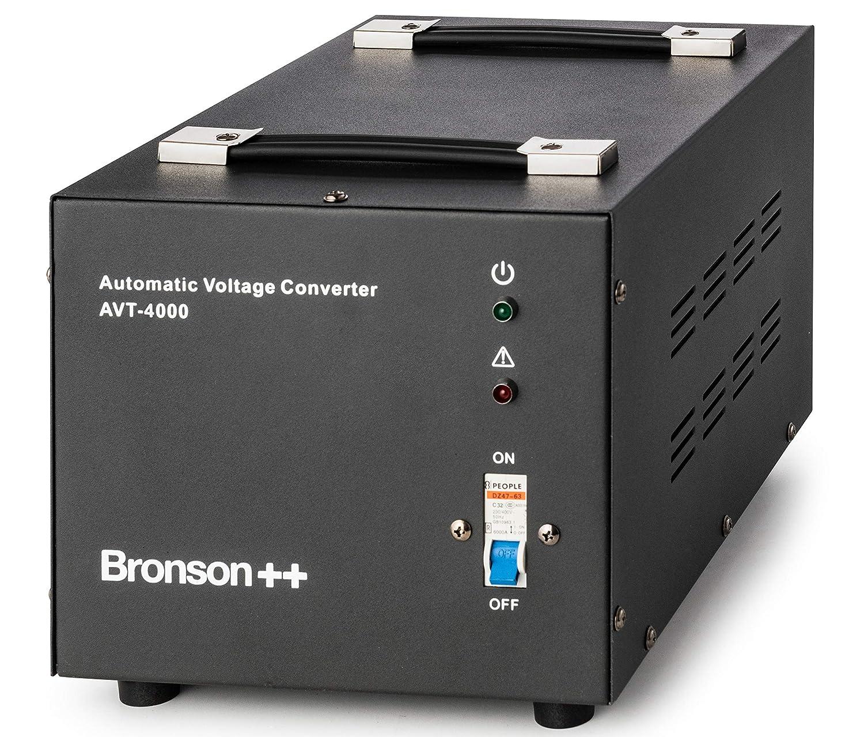 N/úcleo Toroidal Elevador//Reductor - 4000 Vatios Bronson 110V 120V 4000W Transformador de 110//120 Voltios Convertidor de Voltaje EE.UU Bronson++ AVT 4000