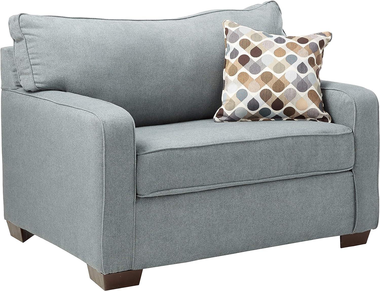 Simmons Upholstery 9025 01m Mia Denim Sleeper Sofa Mini Amazon Ca Home Kitchen