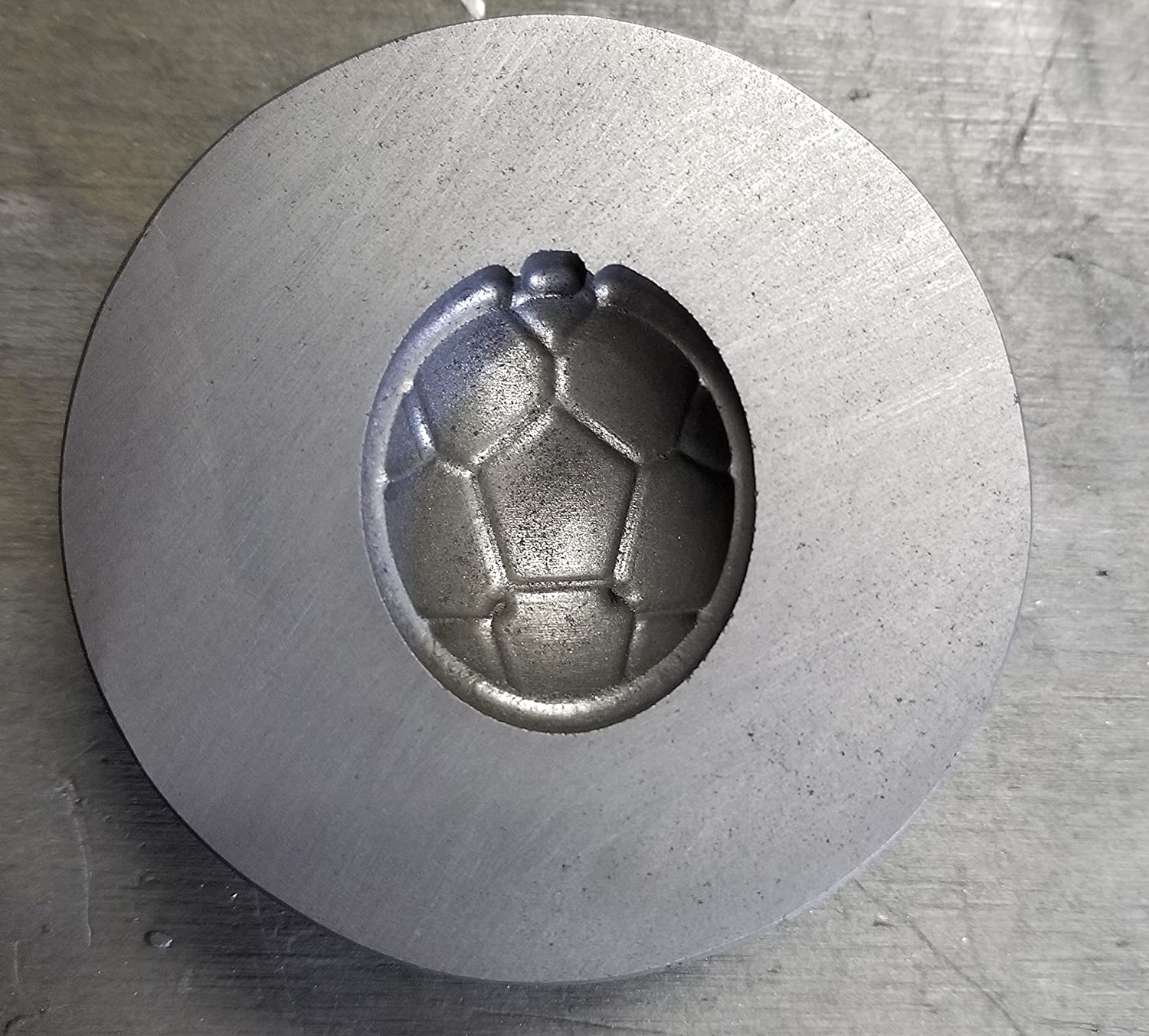 Graphite Mold: Turtle Shell (35mm x 25mm) GnG Machine Works