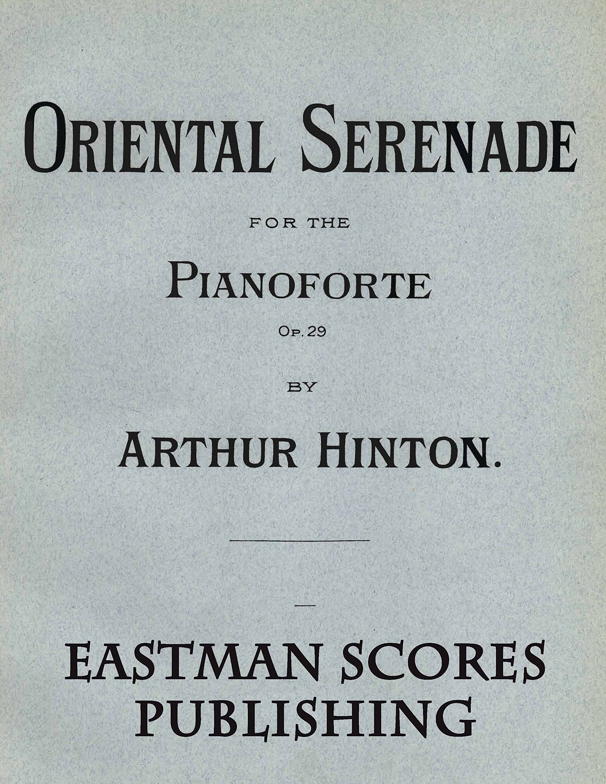Read Online Hinton, Arthur : Op. 29, No. 1-2 ebook