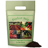 Perfect Soil SAPROPEL All Purpose Organic Fertilizer for Vegetables and Plant Food - Grow a Healthier Garden and Protect…