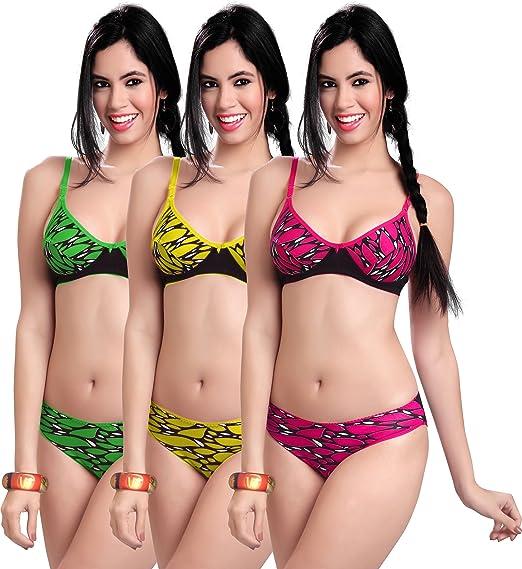 aed6df7b96 MANSI Women s Bra Panty Set (mahima30