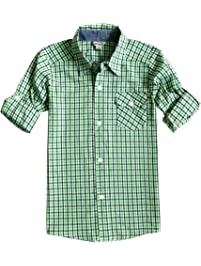 Boys Button Down and Dress Shirts | Amazon.com