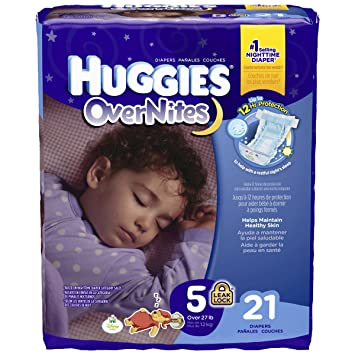 Huggies Diapers 21 CT (Pack of 8)