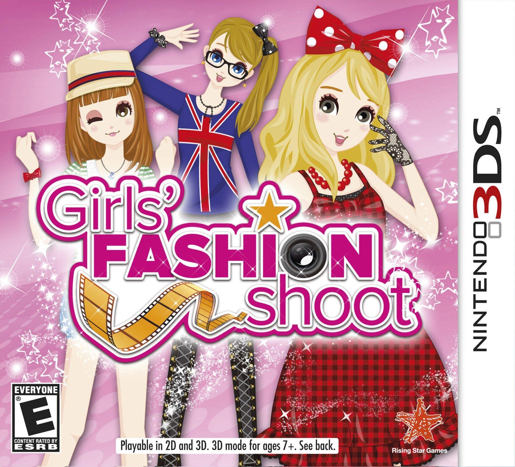 Girls' Fashion Shoot - Nintendo 3DS