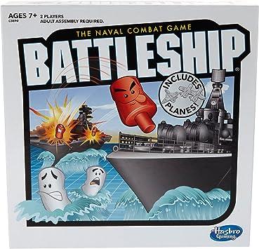 Hasbro Gaming- Battleship with Planes Juego de Mesa de Estrategia de Acorazado con Aviones para Edades de 7 años en adelante (Exclusivo de Amazon) (C3890): Amazon.es: Juguetes y juegos