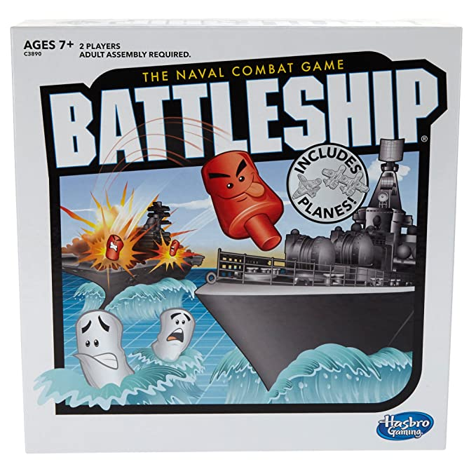 Battleship Board Game with Planes, Ages 7 and up (Amazon Exclusive)