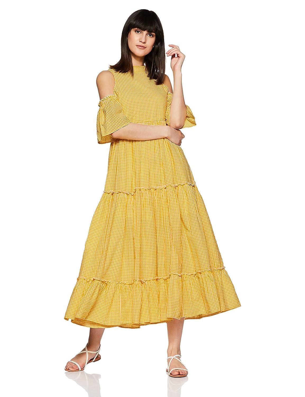 VERO MODA Women's Empire Maxi Dress