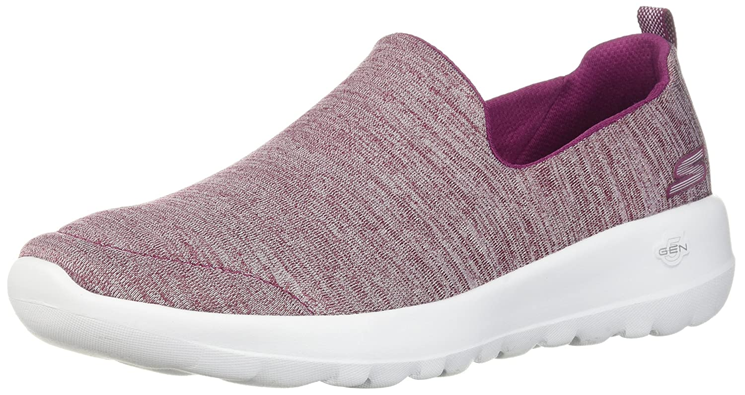 Skechers Women's Go Walk Joy-15611 Sneaker B07535Y9JT 8 B(M) US|Raspberry