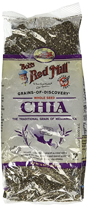 De Bob Red Mill Chia semillas: Amazon.com: Grocery & Gourmet ...