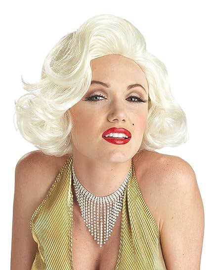 California Costumes Women s Classic Marilyn Monroe Platinum Blonde ... 16bc206bf5