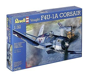 Revell - Maqueta Vought F4U-1A Corsair, escala 1:32 (04781)
