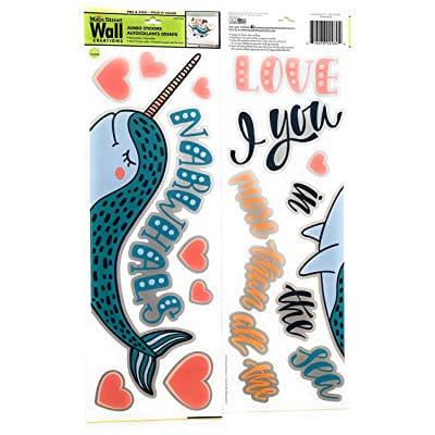 Narwhal Wall Stickers: Kitchen & Dining