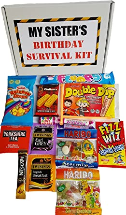 my sisters birthday survival kit a fun and tasty birthday gift present for a sister to