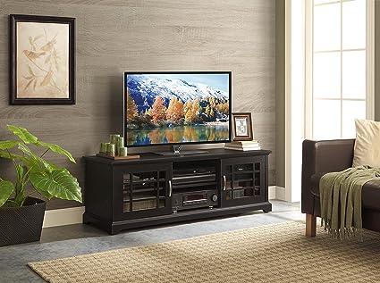 Amazon Com Whalen Furniture Calistoga Tv Console 60 Inch Kitchen