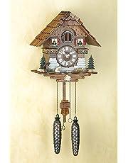Trenkle Uhren Alemán Reloj de cuco - estilo Chalet - con mecanismo de cuarzo - 25