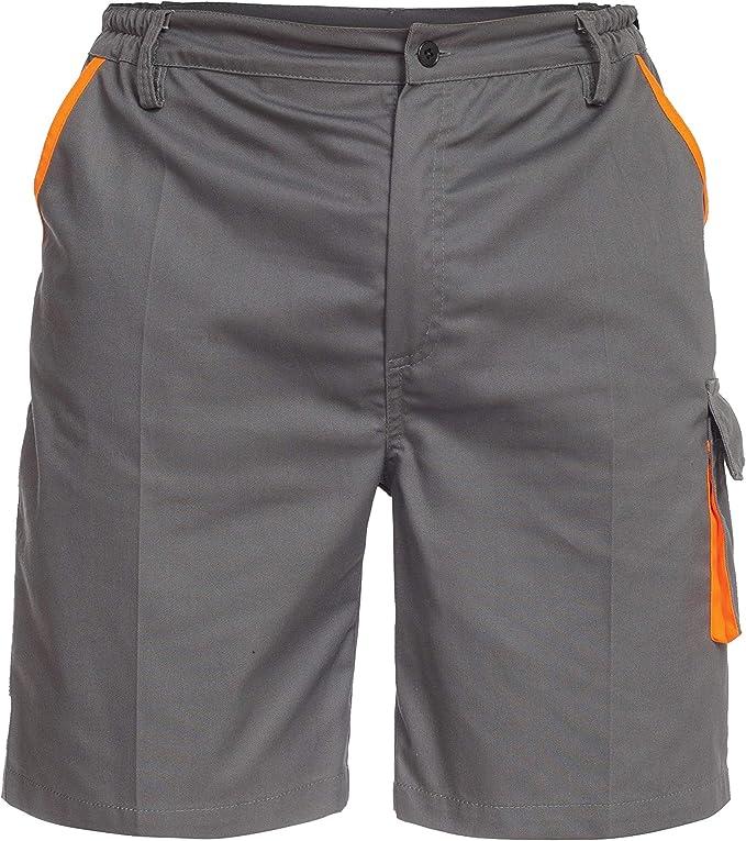 Image of Sigma Pantalones de Trabajo Cortos/Bermudas para Hombre - para Verano - Gris