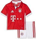 adidas Unisex Baby Trainingsanzug Fc Bayern München Mini-Heimausrüstung
