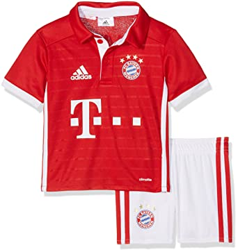 arriving on feet at outlet for sale adidas Unisex Baby Trainingsanzug Fc Bayern München Mini-heimausrüstung