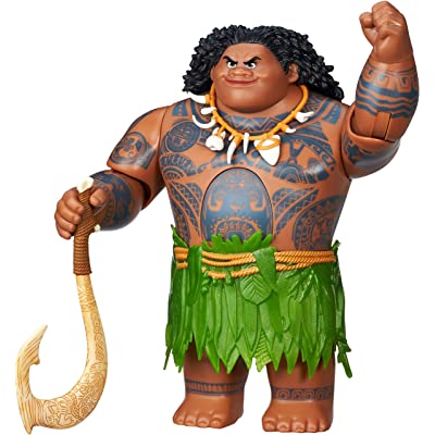 Disney Moana Swing 'n Sounds Maui: Toys & Games