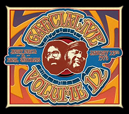 Jerry Garcia & Merl Saunders - 'GarciaLive Volume 12: January 23rd, 1973 The Boarding House'