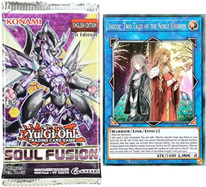Two Tales of the Noble Knights Limited Edition Super Rare SOFU-ENSE1 Isolde