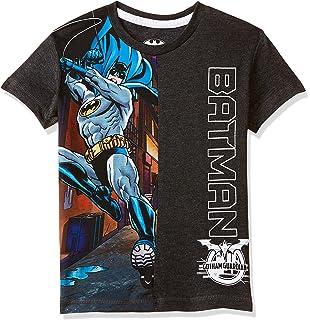 a15ed836 Captain America By Kidsville Boys' Plain Regular Fit T-Shirt: Amazon ...