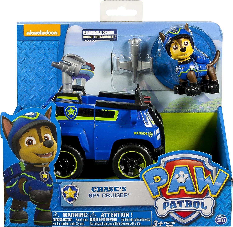 Nickelodeon PAW Patrol Dog Chase/'s Spy Chuiser Model Car Vehicles Kid Child Toy