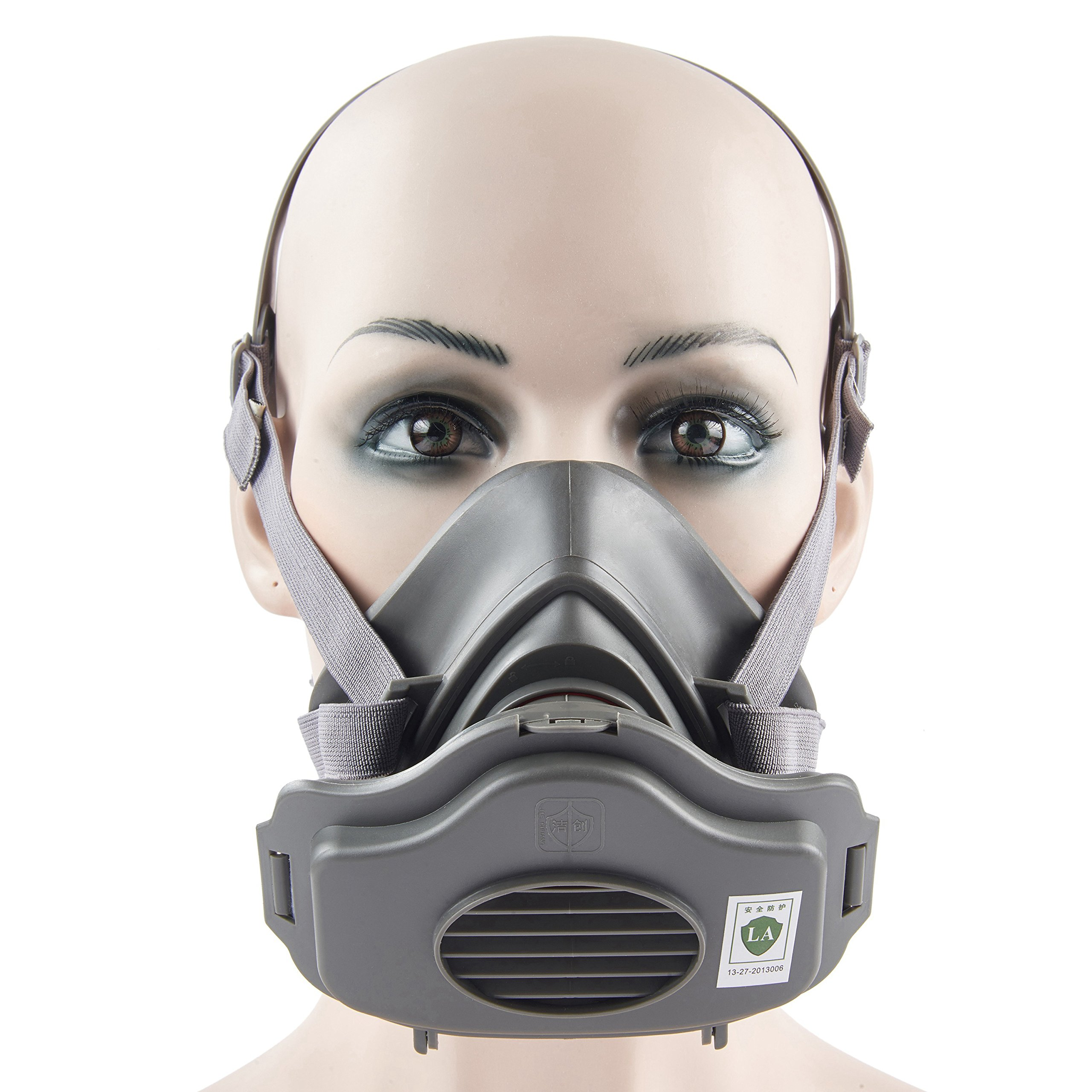 Joyutoy Respirator Anti -Dust Industrial Mask PM2.5 Half Facepiece Reusable Respirator Paint Breathing MaskProtection Filter