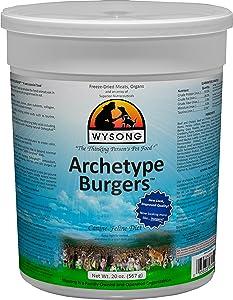 Wysong Archetype Burgers Canine/Feline Diet Dog/Cat Food- 20 Ounce Canister
