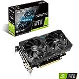 华硕双 NVIDIA GeForce RTX 2070 迷你 OC 版游戏显卡(PCIe 3.0、8GB GDDR6 内存、HDMI、DisplayPort、DVI-D,适用于英特尔 NUC 9 Extreme 套件和小型机箱。