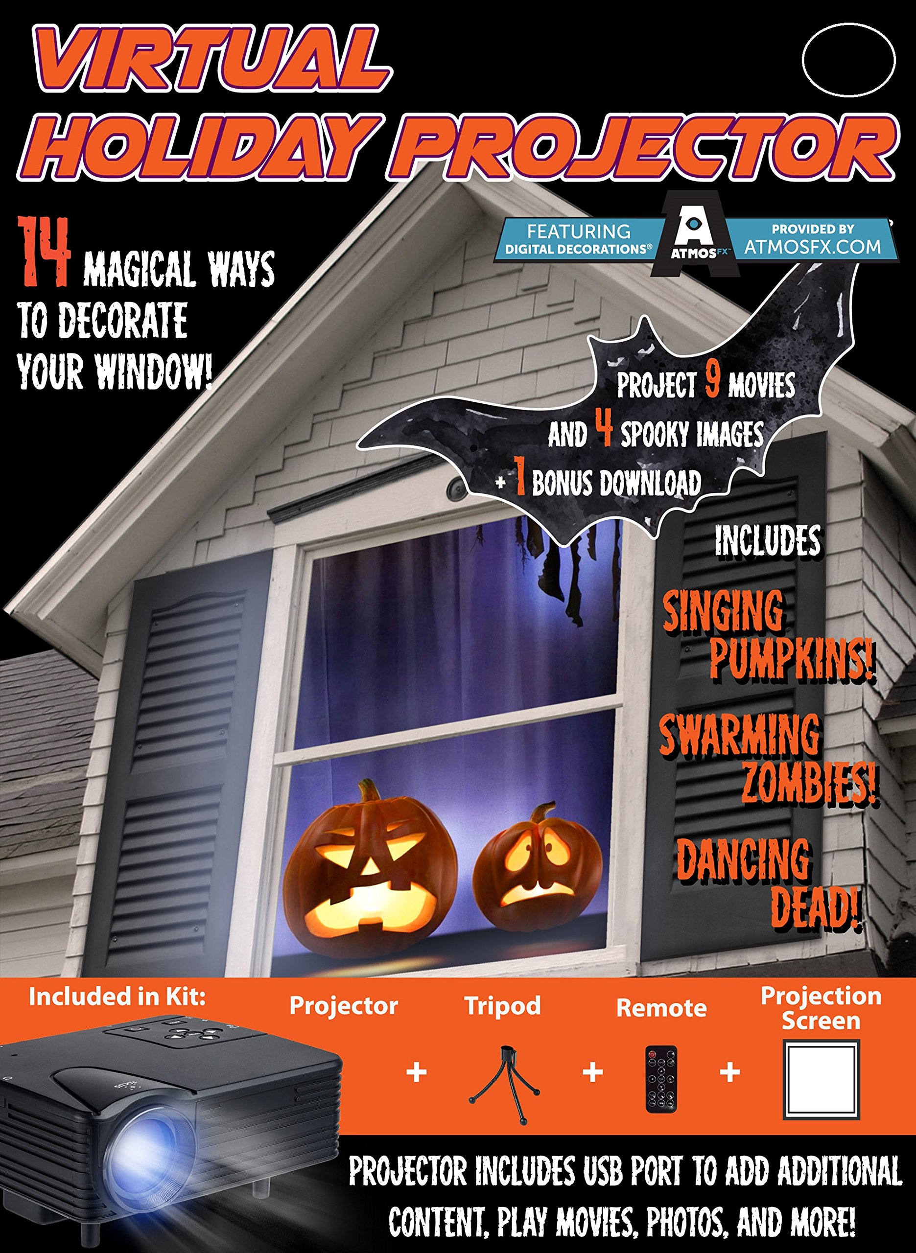 Mr. Christmas Virtual Halloween 7pc Projector Kit  by Mr. Christmas