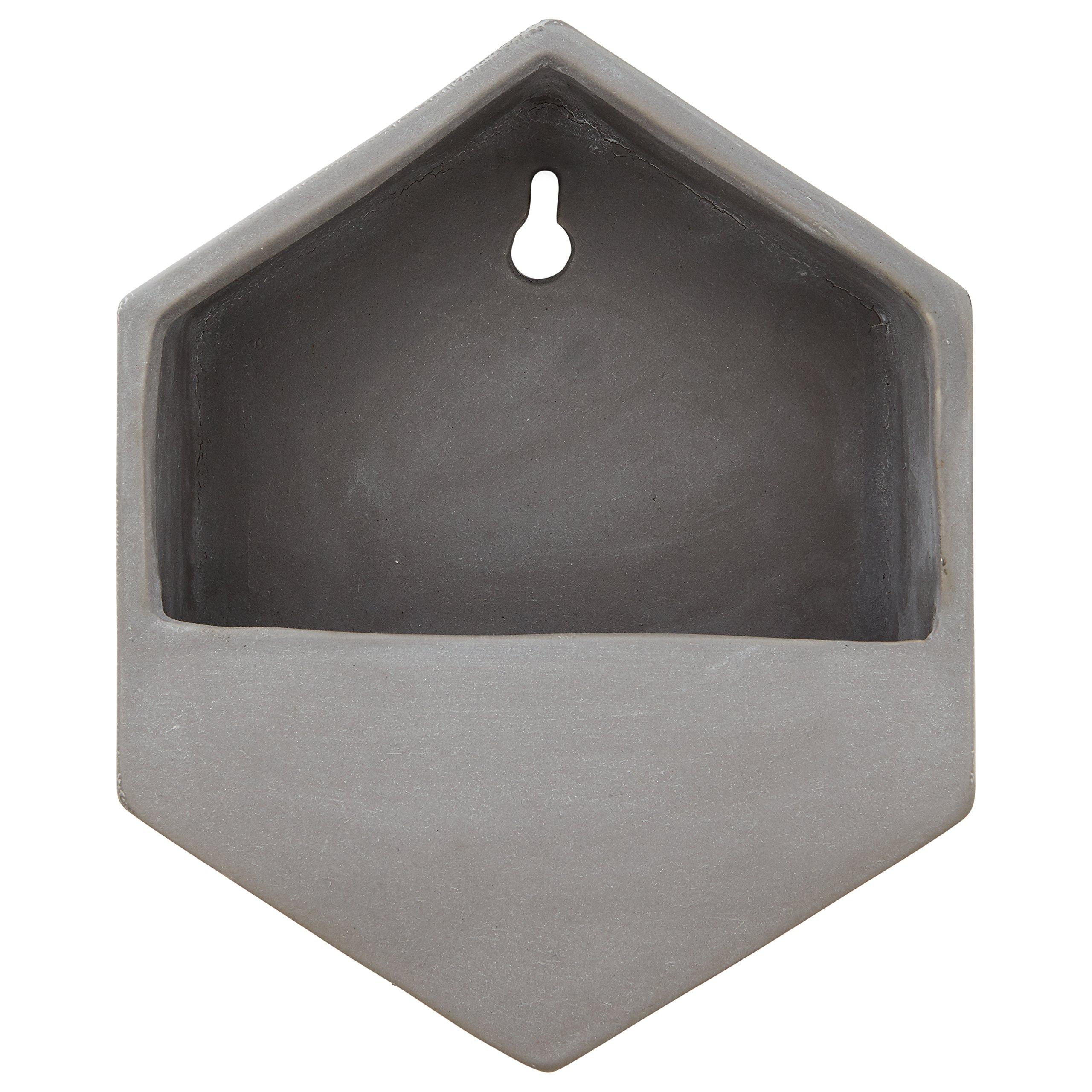 Rivet Modern Hexagonal Earthenware Wall Mount