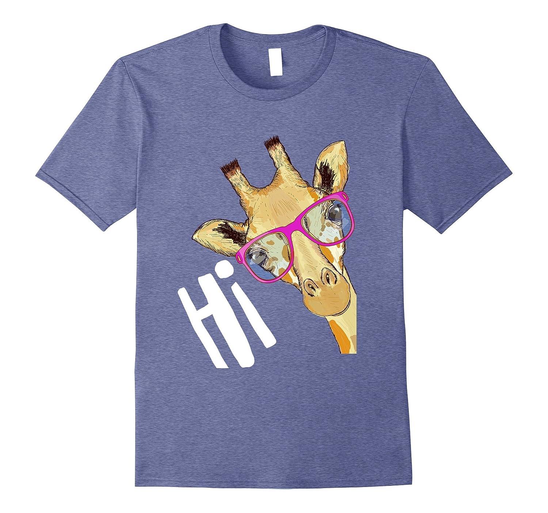 Giraffe with Sunglasses Tee-Shirt-AZP