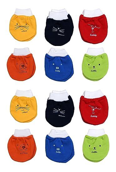 99588e5f7e4 GURU KRIPA BABY PRODUCTS ® Presents New Born Baby Baby s Premium Cotton  Housiry Mittens Hand