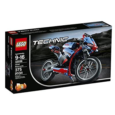 LEGO Technic Street Motorcycle: Toys & Games