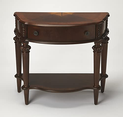 BUTLER HALIFAX PLANTATION CHERRY CONSOLE TABLE