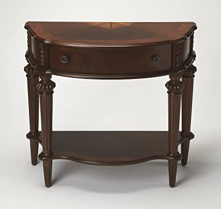 BUTLER 589024 HALIFAX PLANTATION CHERRY CONSOLE TABLE