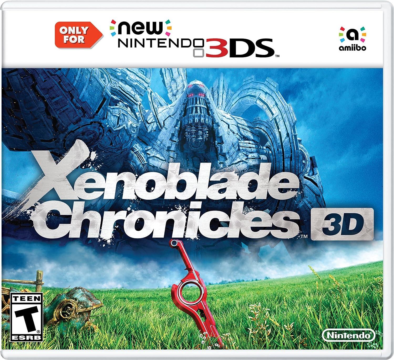 f83c259bb0 Amazon.com  Xenoblade Chronicles 3D - New Nintendo 3DS  Nintendo of  America  Video Games