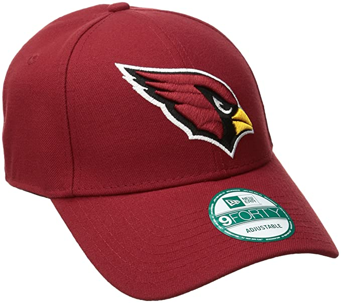 low priced 4fe88 70827 Amazon.com   NFL The League Arizona Cardinals 9Forty Adjustable Cap    Sports Fan Baseball Caps   Clothing