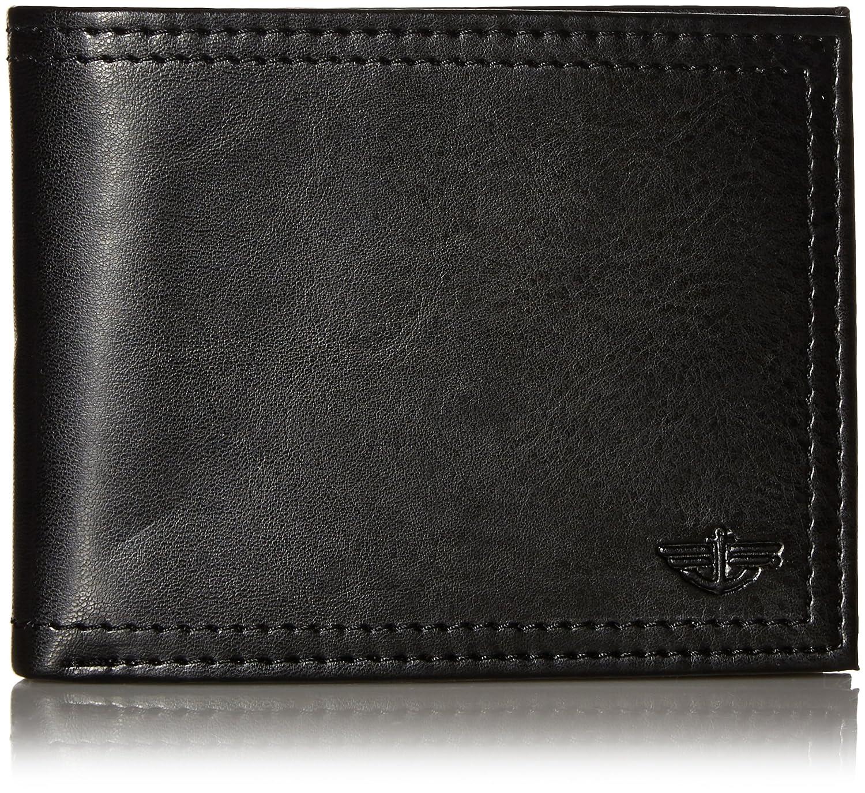 Dockers Men's Extra Capacity Slimfold Wallet Black Dockers Men' s Leather Accessories 31DK1397