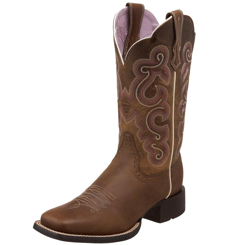Badlands Brown ARIAT Women's Quickdraw Western Boot