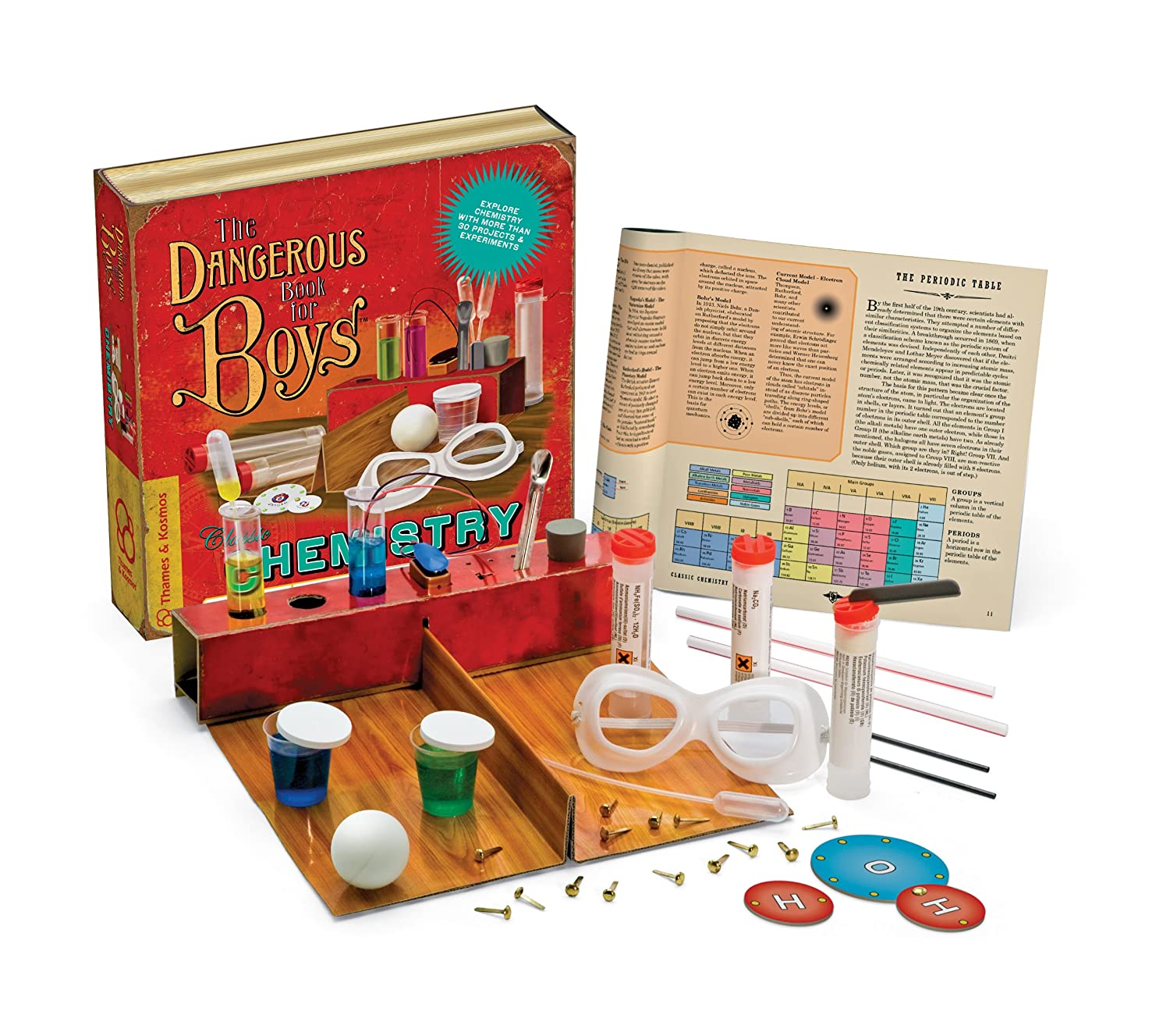Amazon The Dangerous Book for Boys Classic Chemistry Science