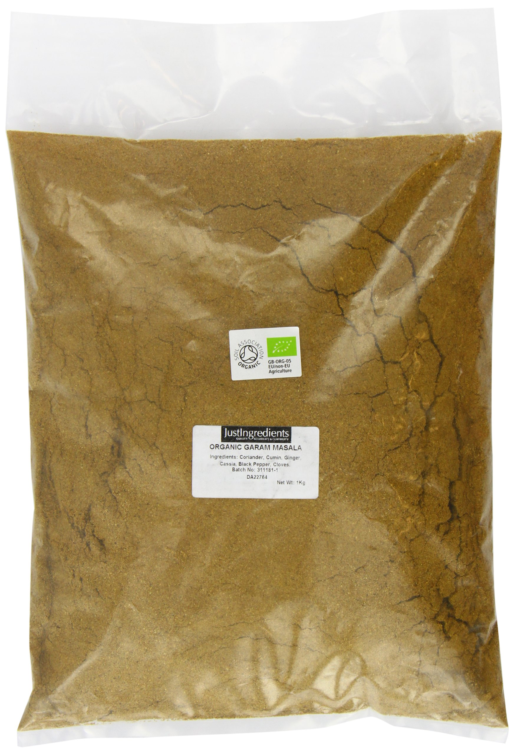 JustIngredients Organic Garam Masala Loose 1 Kg