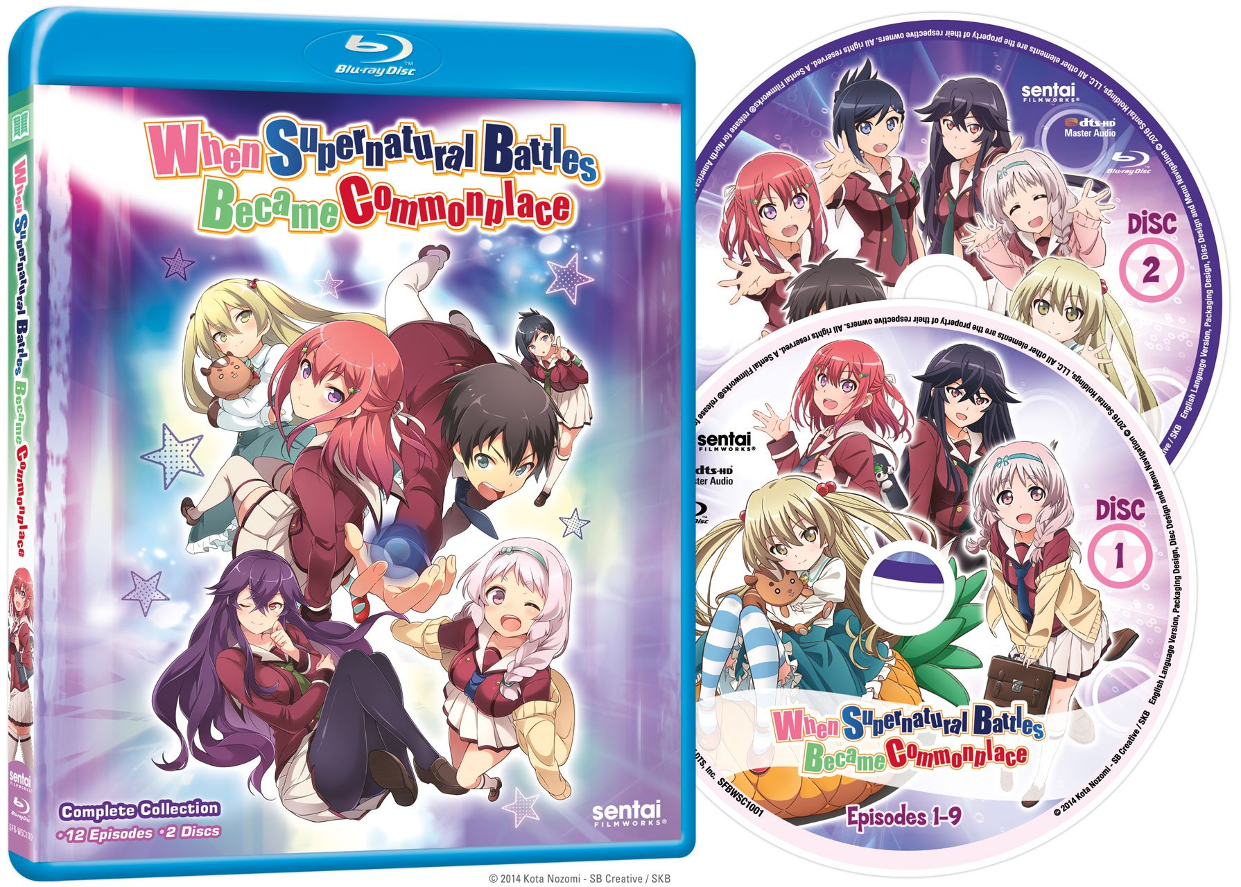 When Supernatural Battles Became Commonplace Complete Collection