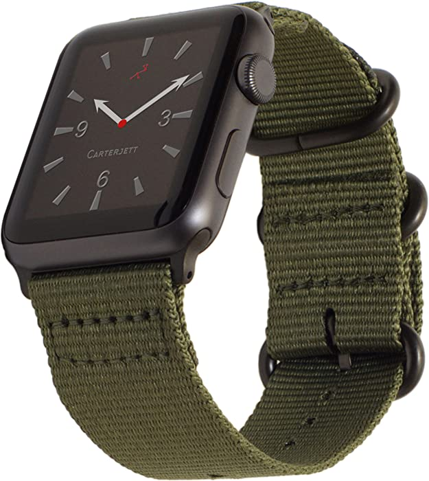 Top 9 Apple Watch Nylon Military Green Band 42Mm